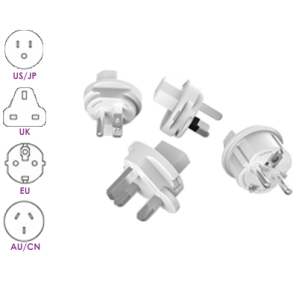 PowerCube ReWirable Travel Plugs